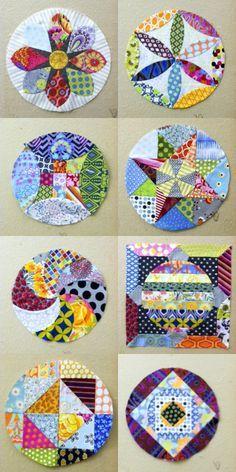 El patchwork puede tener muchos diseños, ¿cuál es el que más te gusta? #patchwork #costura #yolohice