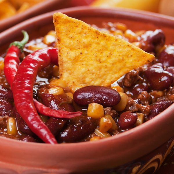 Serve with Rice and Organic Corn Chips