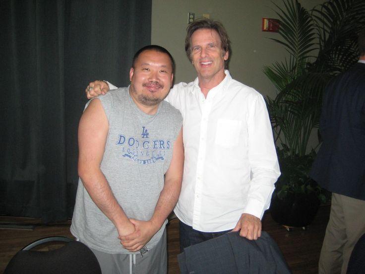 David Sheng and Hart Bochner
