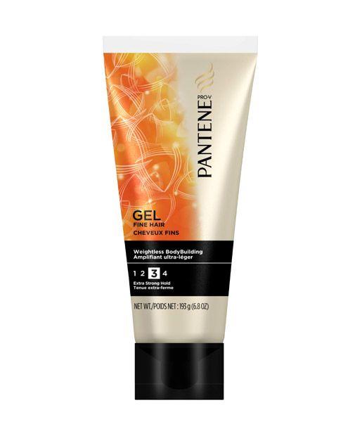No. 3: Pantene Pro-V Fine Hair Solutions Weightless Body Building Gel, $3.99, 13 Best Hair Gels