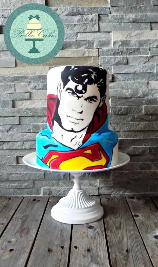 Superman by Bella Cakes