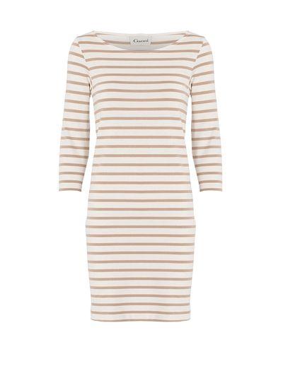 Ganni Classic jersey dress with stripes - Van budget tot designer: 17 zomerjurken die jij meteen kunt dragen
