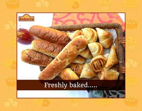 Try our oven fresh array of breads, croissants, puffs and more.