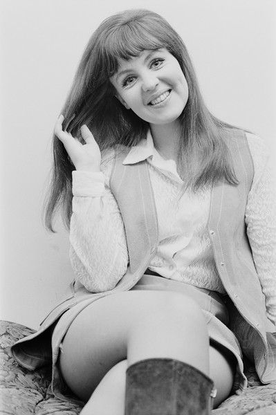 English actress Pauline Collins, 1970.