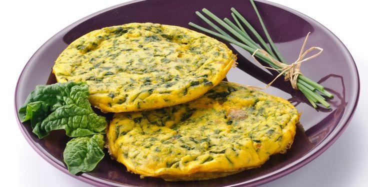 Spinach Omelette - Unislim