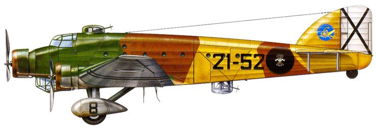 Savoia Marchetti SM.81, Nationalist Spanish Air Force.