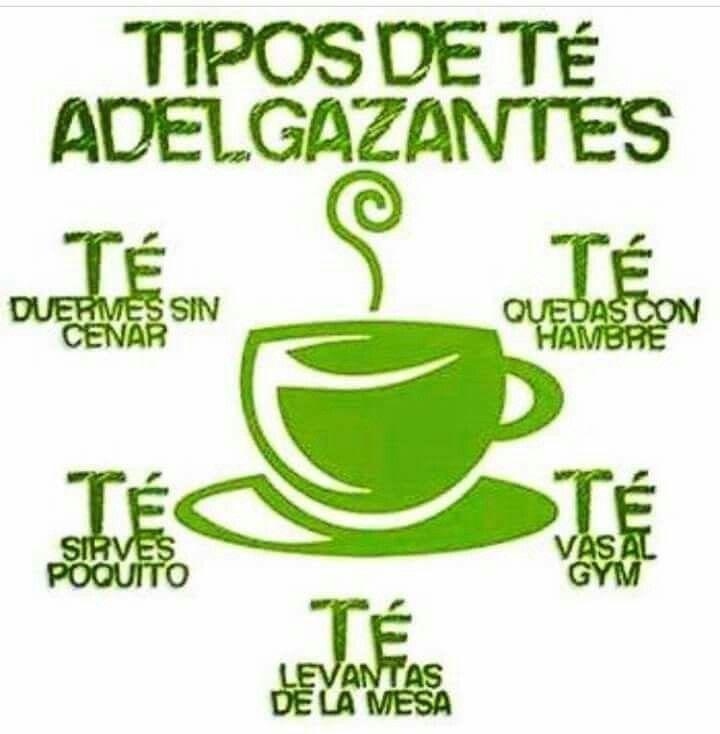 Tipos de té adelgazantes