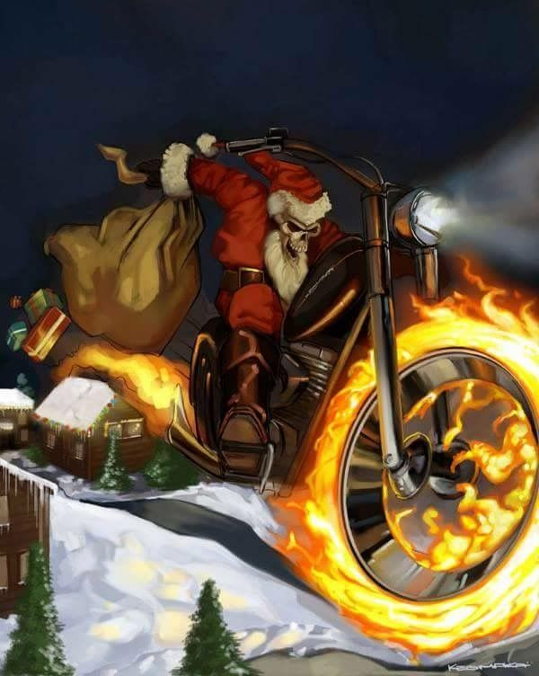 109 Best Love A Bikers Christmas Images On Pinterest