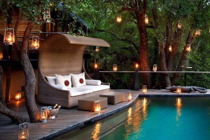 16 besten outdoor bilder auf pinterest gartendekoration gartenideen und gartendekorationen. Black Bedroom Furniture Sets. Home Design Ideas