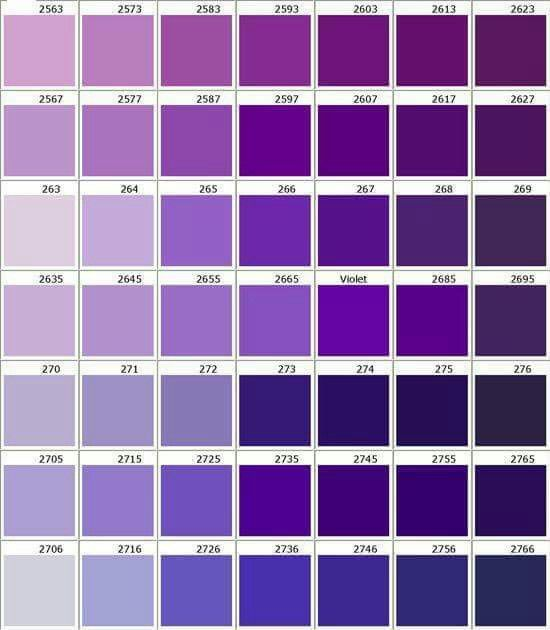 Best 25 Shades Of Purple Ideas On Pinterest