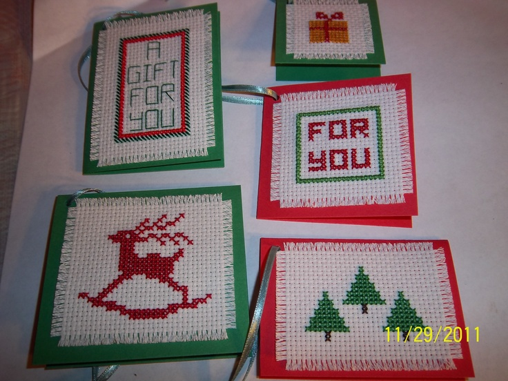 Cross Stitch Gift Tags Gift Tags Amp Gift Cards Cross