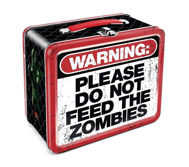 Zombie Warning Lunchbox :: VampireFreaks Store :: Gothic Clothing, Cyber-goth, punk, metal, alternative, rave, freak fashions