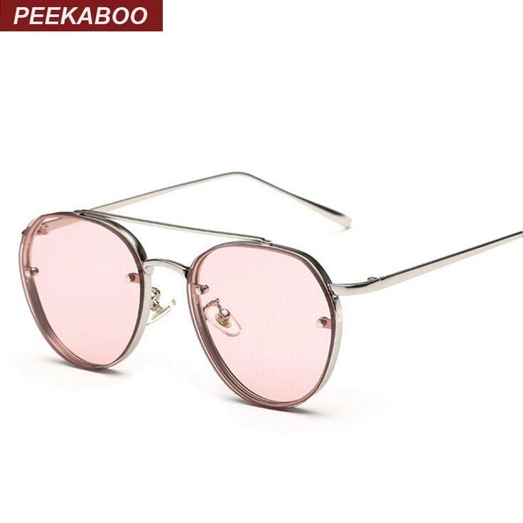 $5.98 (Buy here: https://alitems.com/g/1e8d114494ebda23ff8b16525dc3e8/?i=5&ulp=https%3A%2F%2Fwww.aliexpress.com%2Fitem%2FNewest-yellow-green-pink-ocean-sunglasses-women-fashion-summer-style-steam-punk-metal-sun-glasses-men%2F32667102653.html ) Peekaboo Newest yellow green pink ocean sunglasses women fashion summer style steam punk metal sun glasses men uv400 lentes de for just $5.98