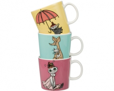 Moomin mugs from Arabia