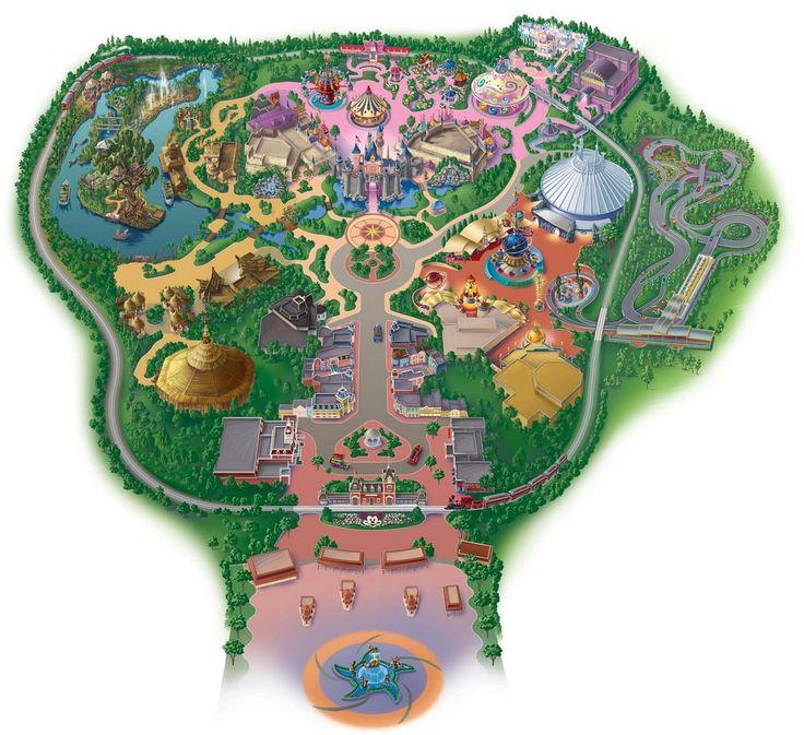Hong Kong Disneyland Map Disneyland Map Hong Kong Disneyland Theme Park Map