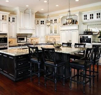 Kitchen island with seating for 6 park blvd pinterest - Kitchen island designs with seating for 6 ...