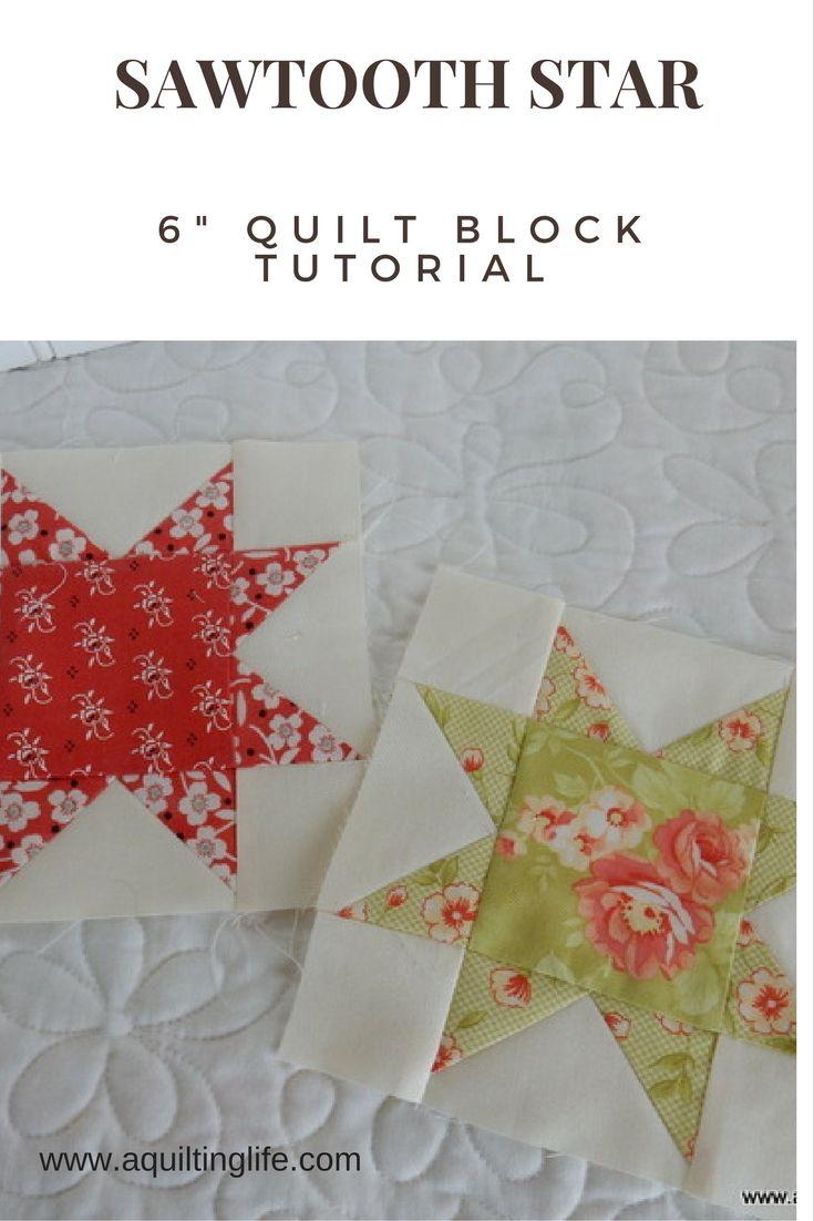 Summer Patchwork Sampler: Star Block | A Quilting Life - a quilt blog