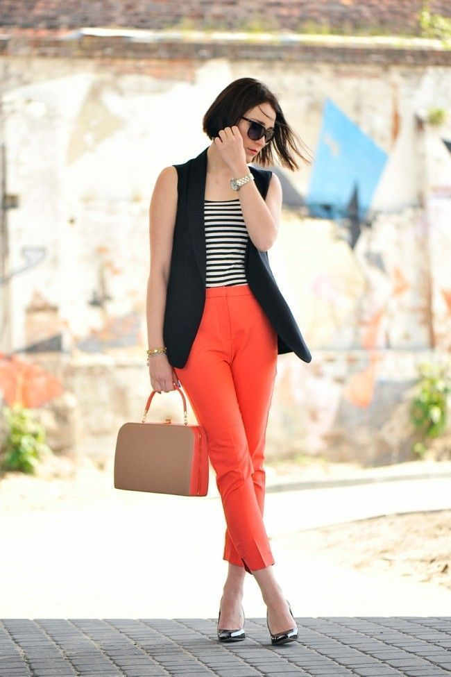Calças coloridas: aprenda como usar e não errar - Dicas de Mulher