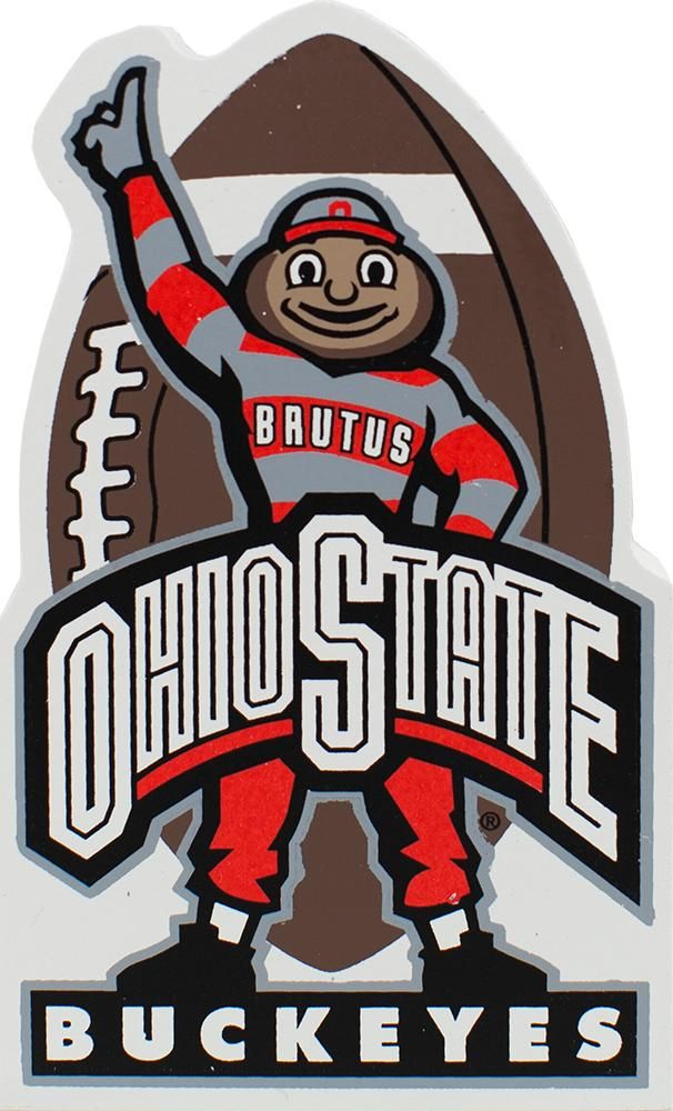 cats meow  Brutus mascot of the Ohio State Buckeyes
