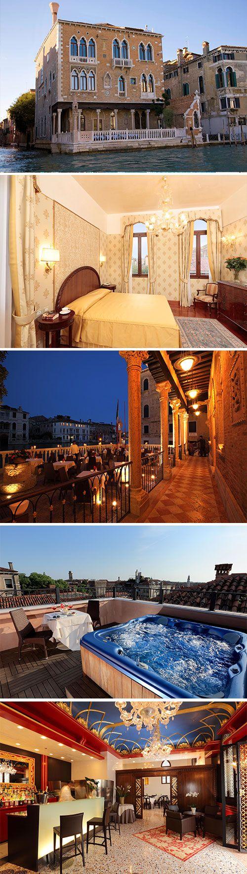 Verblijf in stijl in Hotel Palazzo Stern, een viersterren hotel in Venetië gevestigd in een oud paleis. Dit hotel ligt direct aan de slagader van de stad, Canal Grande. Naast een uitstekende ligging beschikt het hotel over prachtige kamers en diverse faciliteiten die bijdragen aan een geslaagde stedentrip.