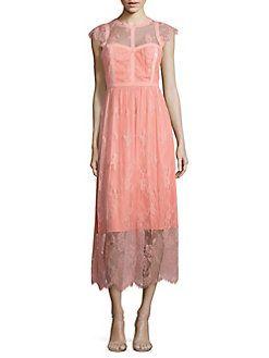 Parker Black - Tesoro Lace Midi Dress