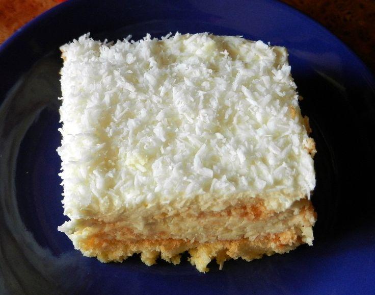 Ciasto śmietanowe rafaello.