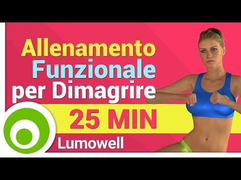 Allenamento Funzionale a Corpo Libero - Esercizi per Dimagrire - YouTube