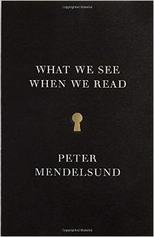 (Adult book with appeal for teens) Peter Mendelsund is a successful graphic artist who works as a book cover designer. Now he explains his thought process and what people do with their brains when they read stories and decide how characters and fantasy settings look.
