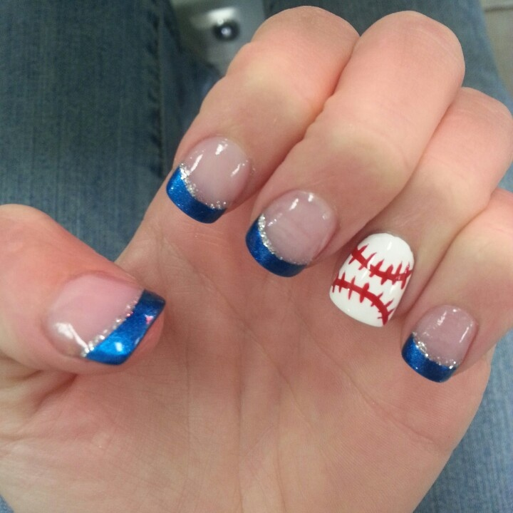 Baseball  Nails... Opening Day March 31 2013
