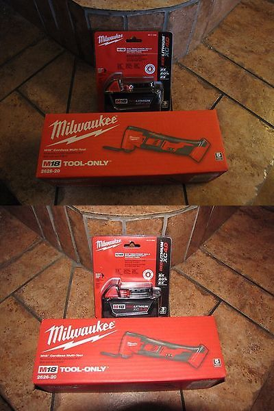 Multi-Tools 46459: Milwaukee Cordless Multi-Tool 2626-20 And Battery 48-11-1840 -> BUY IT NOW ONLY: $130 on eBay!