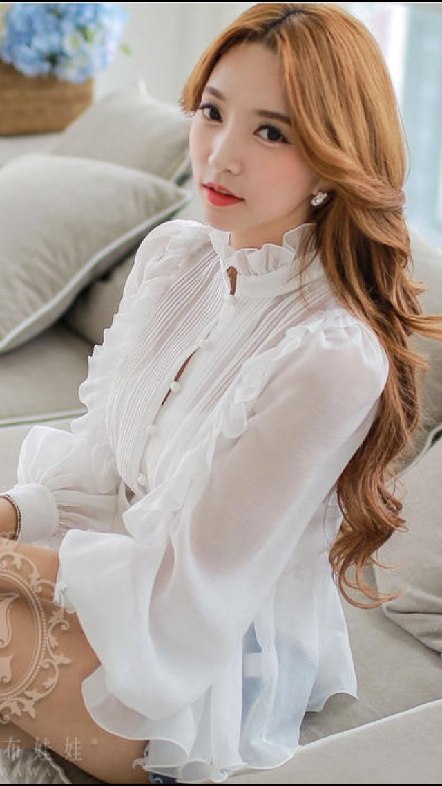 White Silk Blouse Turned Yellow 113