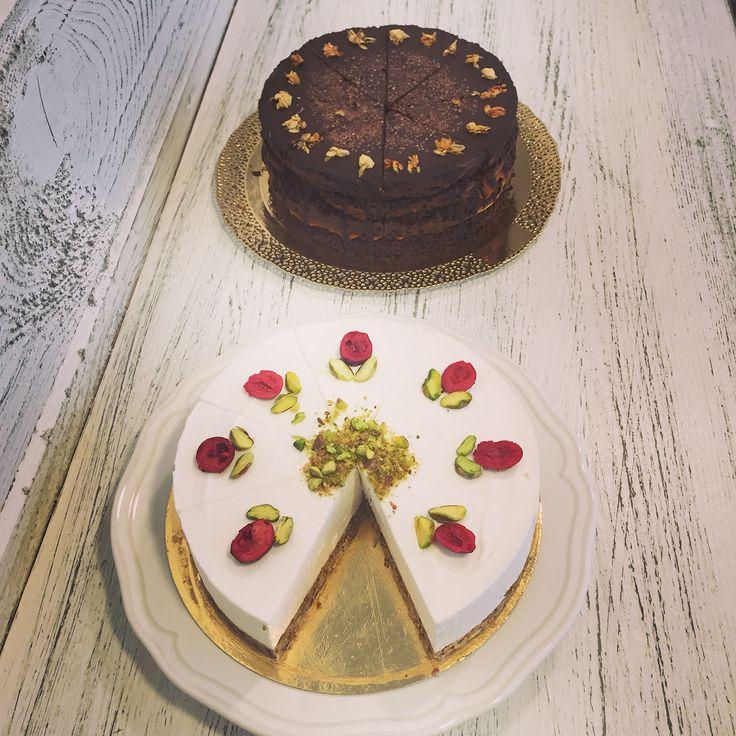 Magmentes sacher és nyers pisztáciás torta #cake#dessert#mutimiteszel