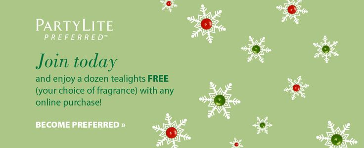 Join My Team and work from your home no need for deliveries all orders get delivered directly to the buyer.. So come on message me and join the best team ever.... www.partylite.biz/elegancebymarta