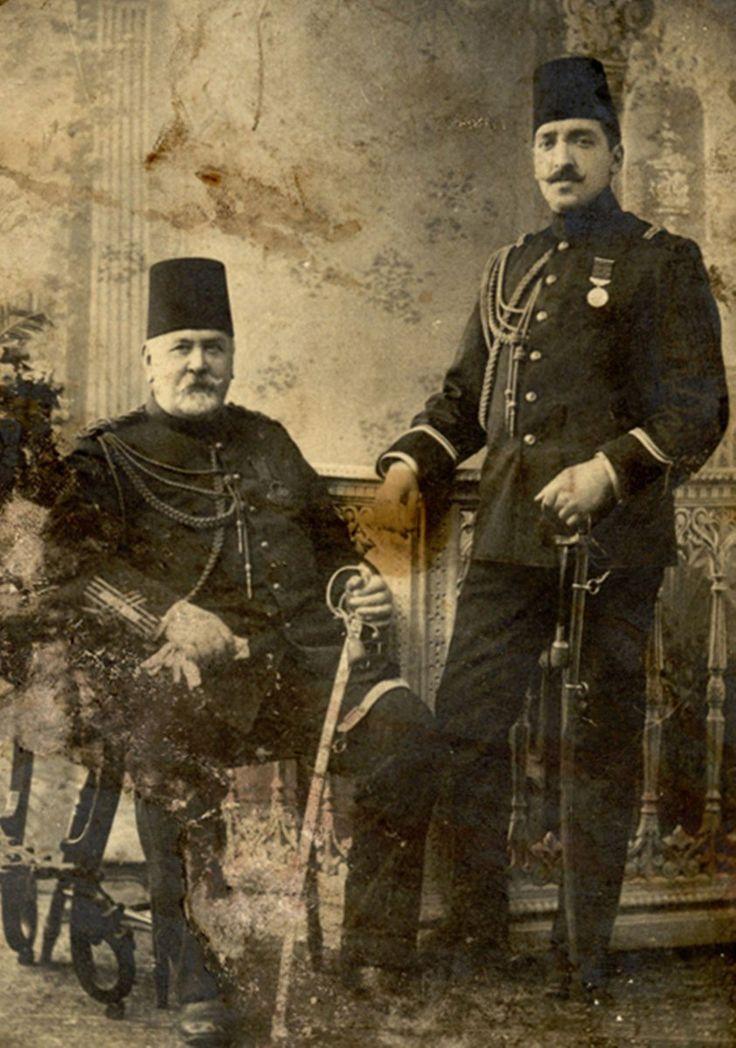 #Hungarian Origin Ziçni Pasha (Széchenyi Ödön), Commander of the Fire Service, 1874 (İtfaiye Kumandanı Ziçni Paşa)