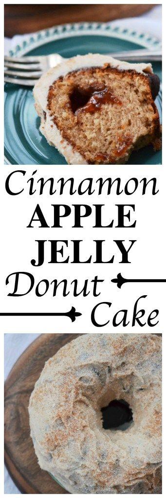 Cinnamon Apple Jelly Donut Cake – #BundtBakers