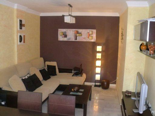 color paredes muebles chocolate | Decorar tu casa es facilisimo.com