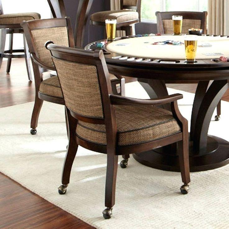 3471 Best Dining Room Furniture Images On Pinterest  Dining Room Interesting Dining Room Chairs On Wheels 2018