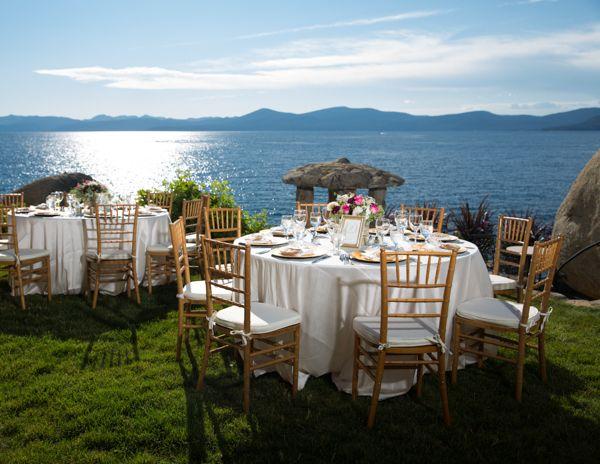 Lakefront Wedding at Lake Tahoe's Thunderbird Lode