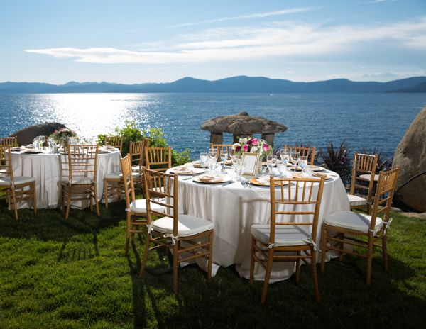 Lakefront Wedding at Lake Tahoe's Thunderbird Lode