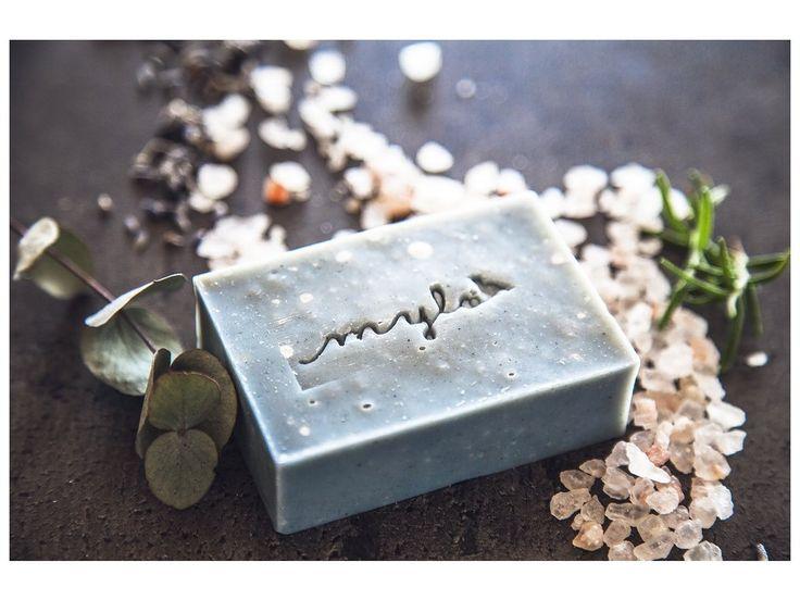 Mylo solné mýdlo s eukalyptem, bergamotem, rozmarýnem a levandulí