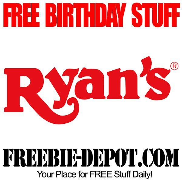 ►► FREE BIRTHDAY STUFF – Ryan's Buffet – FREE BDay Buffet – All-You-Can-Eat Birthday Freebie ►► #BirthdayFreebies, #FreeBirthdayStuff, #HappyBirthday ►► Freebie-Depot