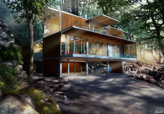 cargo container homes | Shipping Container Homes & House Pictures