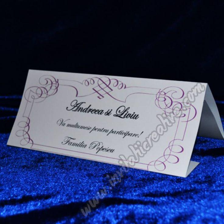 Plic de bani pentru nunta elegant cu model mov pentru nunta ta!