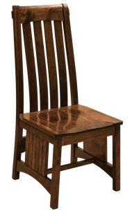 The detailed arms and back of our Pasadena Dining Chair serve up southwestern style with a contemporary flair.