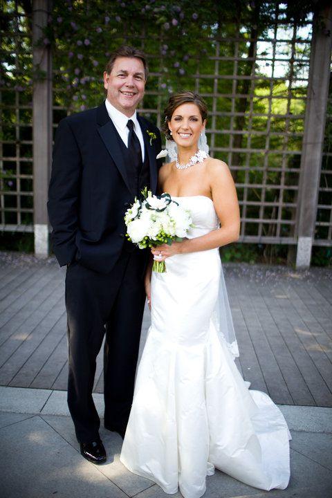Rachel Looks Absolutely Gorgeous With Her Custom Spray Tan On Wedding Day