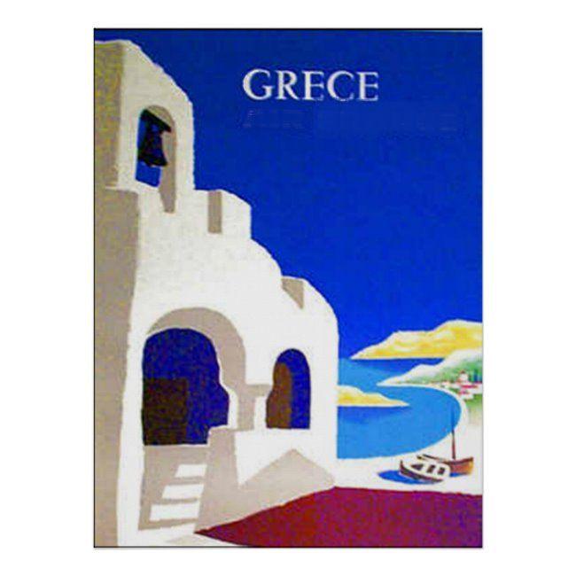Greece Vintage Travel Poster Zazzle Com In 2020 Vintage Travel Posters Travel Posters Vintage Travel