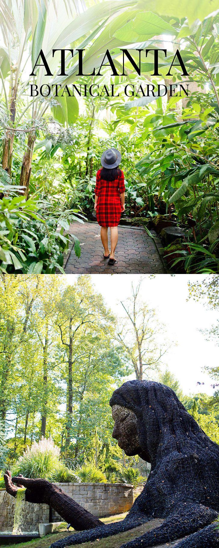 Earth Goddess Living Sculpture at the Atlanta Botanical Garden // localadventurer.com