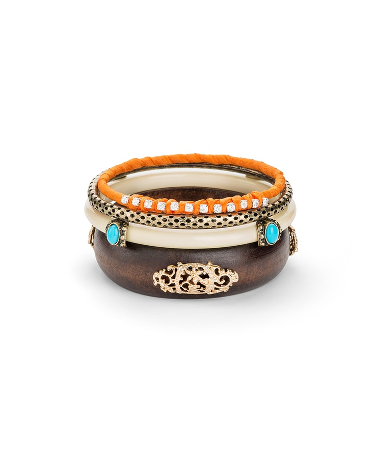 Marrakech Bangles  - these could be casual or dressed up a bit