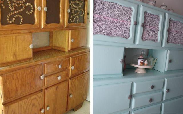 Diy relooking de mon buffet vintage des ann es 50 meuble vintage coins - Relooking meuble vintage ...