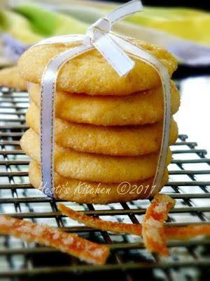 HESTI'S KITCHEN : yummy for your tummy: Orange Cookies